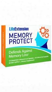Mmory Protect, 12 Colostrinin-lithium (c-li) Capsules, 24 Lithium (li) Capsules