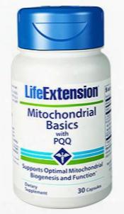 Mitochondrial Basics With Pqq, 30 Capsules