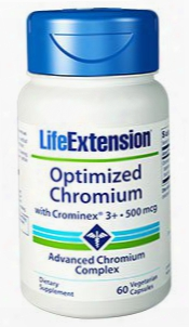 Optimized Chromium With Crominexâ® 3+, 500 Mcg, 60 Vegetarian Capsules