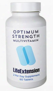 Optimum Strength Multivitamin, 60 Tablets