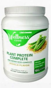Plant Protein Complete & Amino Acid Complex, 450 G (0.99 Lb Or 15.87 Oz.)