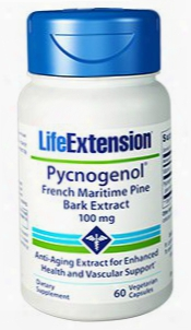 Pycnogenolâ®, 100 Mg, 60 Vegetarian Capsules