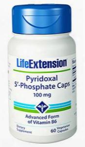 Pyridoxal 5'-phosphate Caps, 100 Mg, 60 Vegetarian Capsules
