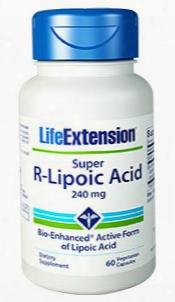 Super R-lipoic Acid, 240 Mg, 60 Vegetarian Capsules
