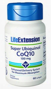 Super Ubiquinol Coq10, 100 Mg, 60 Softgels