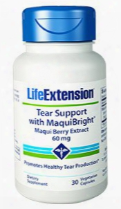 Tear Support With Maquibrightâ®, 60 Mg, 30 Vegetarian Capsules