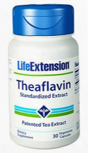 Theaflavin Standardized Exrtact, 30 Vegetarian Capsules