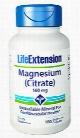 Magnesium (Citrate), 160 mg, 100 vegetarian capsules