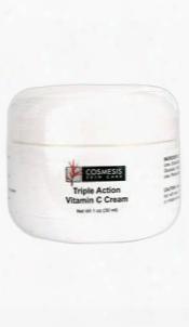 Triple Action Vitamin C Cream, 1 Oz (30 Ml)