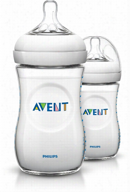 Avent Close-to-nature Bottles, Double Pack