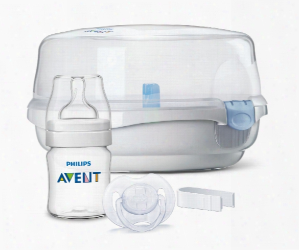 Avent Microwave Steam Steriliser With Accessory