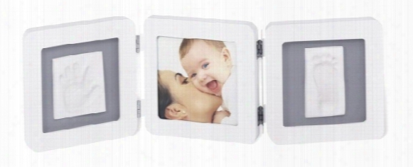"Baby Art ""double Print Frame�"
