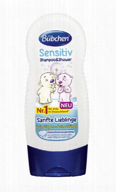 Bã¼bchen Sensitive Shampoo & Shower Â�œgentle Friendsâ��