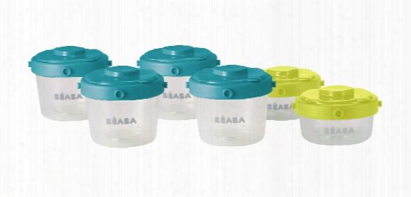 Beaba Clip Portion Set 125ml And 60ml, 6 Piece Set