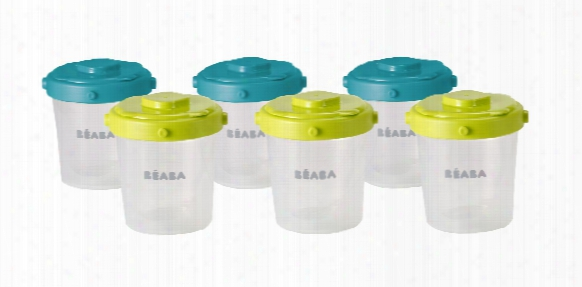 Beaba Clip Portion Set 200ml, 6 Piece Set