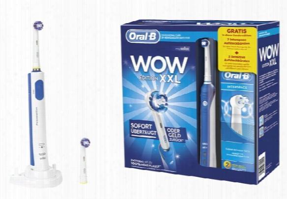 Braun Toothbrush Oral-b Professional Care Wow Xxl Edition