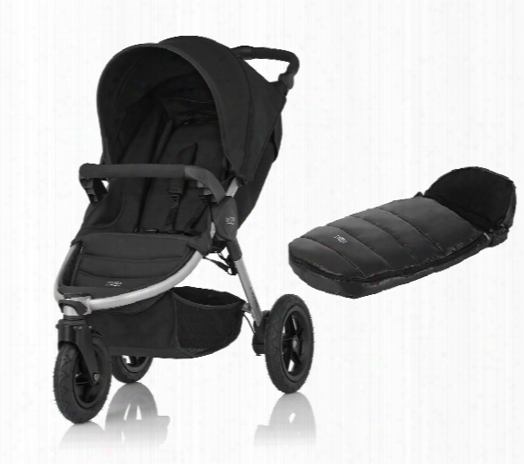 Britax B-motion 3 Incl. Foot Muff Shinyc Osytoes