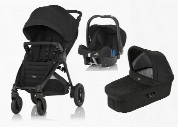 Britax B-motion 4 Plus Incl. Canopy Pack + Carrycot Attachment + Infant Carrier