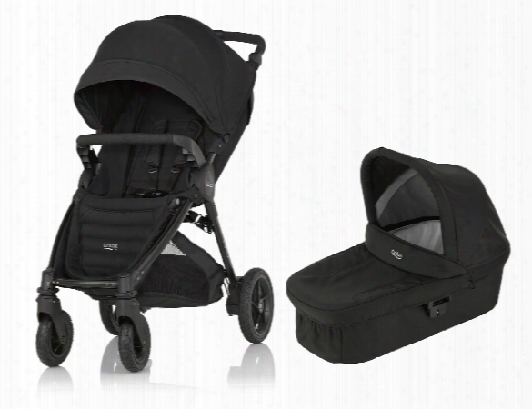 Britax B-motion 4 Plus Incl. Canopy Pack + Hard Carrycot Attachment