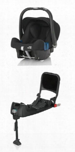 Britax Rã¶mer Infant Car Seat Baby-safe Plus Shr Ii Including Isofix Base