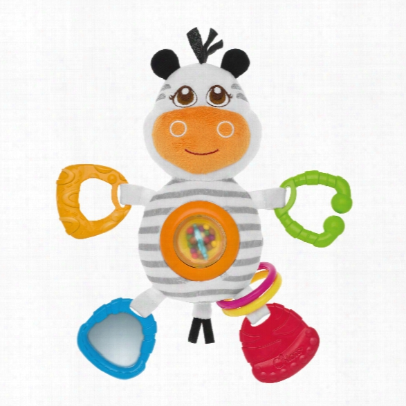 Chicco Baby Senses Rattle Mrs Zebra