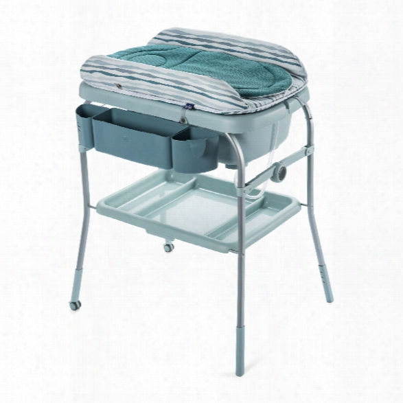 Chicco Cuddle & Bubble Comfort Baby Bath And Changing Table