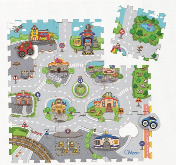 Chicco Jigsaw Puzzle Mats City & Castle