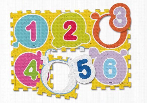 Chicco Soft Play Mats Numbers & Animals