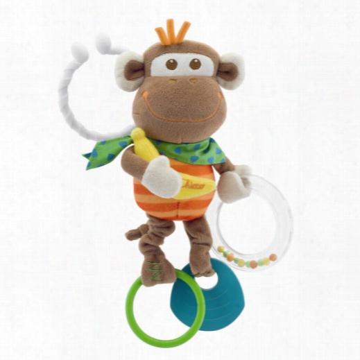Chicco Vibrating Rattle Monkey