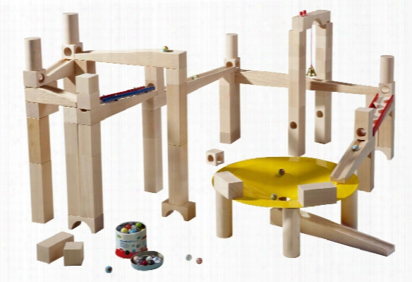 Haba Ball Track Master Building Set