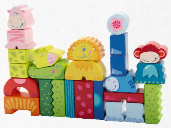 Haba Building Blocks Eenie, Meenie, Miney, Zoo!