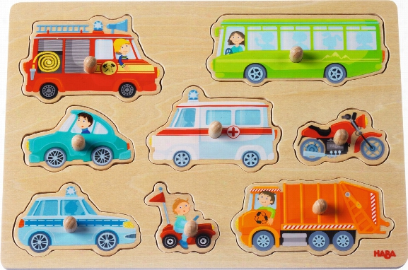 Haba Clutching Puzzle Â�œthe World Of Vehiclesâ��