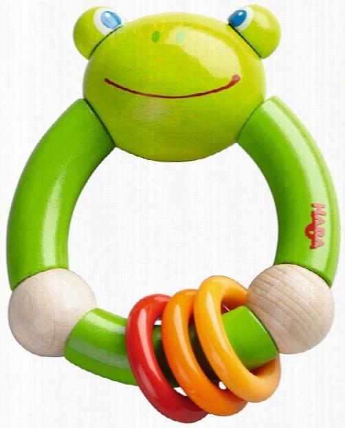 Haba Clutching Toy Â�œcroaking Frogâ��