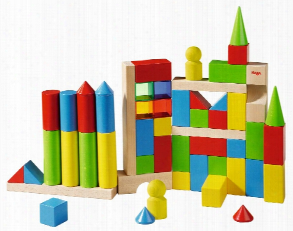 "Haba Coloured Building Blocks �"" Maxi"