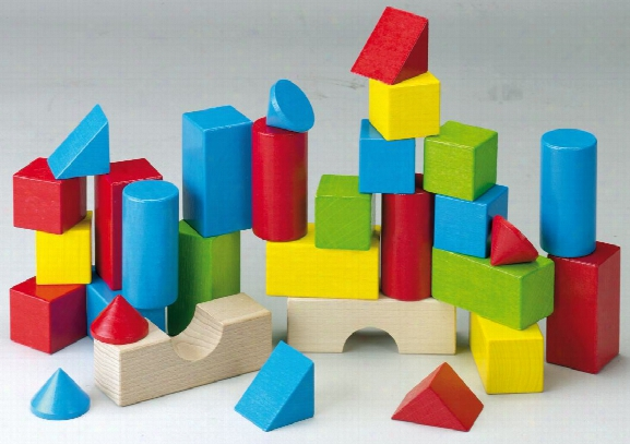 Haba Coloured Building Blocks