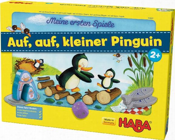 Haba My First Games Â�œletâ�™s Go, Little Penguinâ��