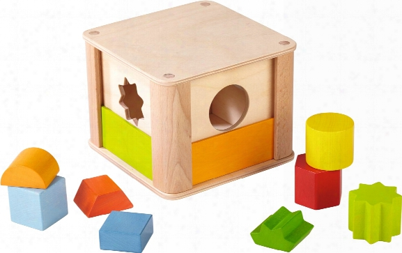 Haba Shape Sorting Box Â�œanimals At The Zooâ��