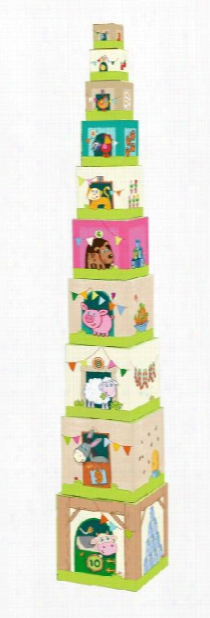 Haba Stacking Cubes Â�œon The Farmâ��