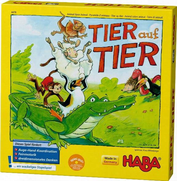 Haba Stacking Game Animal Upon Animal - Here We Turn!
