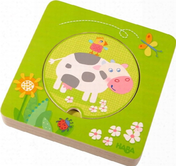 Haba Wooden Puzzle 3d