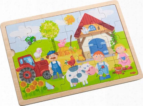 Haba Wooden Puzzle Â�œantonâ�™s Farmâ��