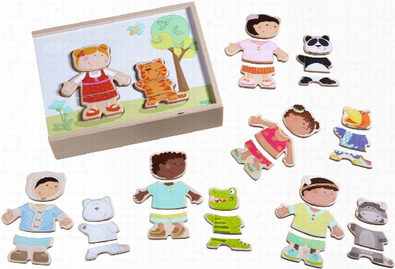 Haba Wooden Puzzle Â�œchildren Of The Worldâ��