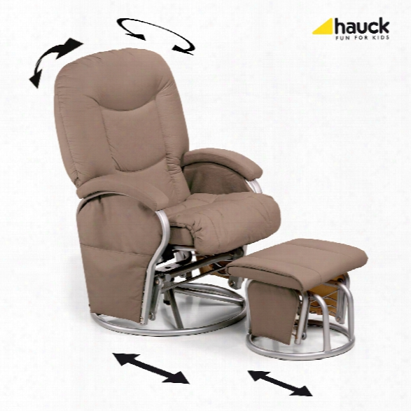 Hauck Nursing And Relaxing Chair Metal-glider Recline