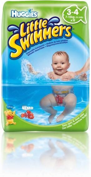 Huggies Swim Nappies, Size 3/4