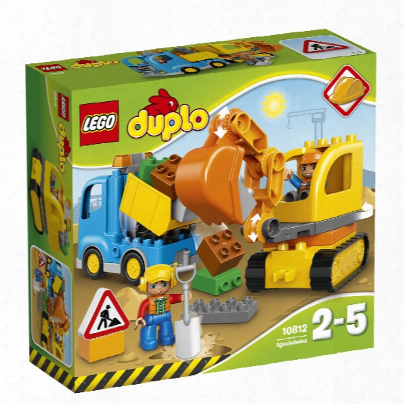 Lego Duplo Digger & Lorry
