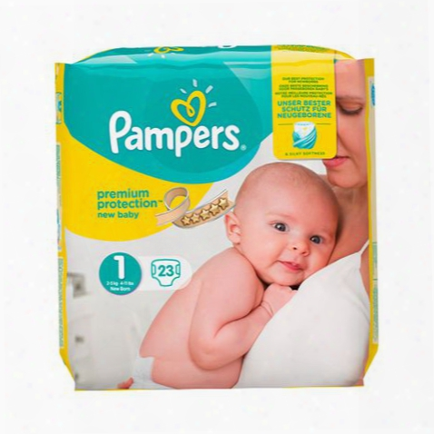 "Pampers Premium Protectoin Nappies New Baby �"" Size 1"