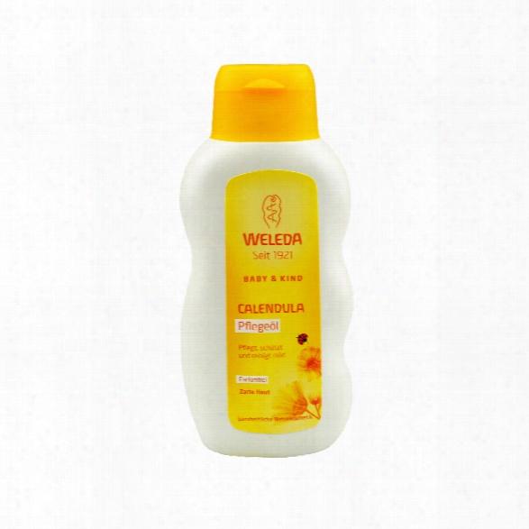 Weleda Calendula Caring Oil, Perfume-free, 200 Ml