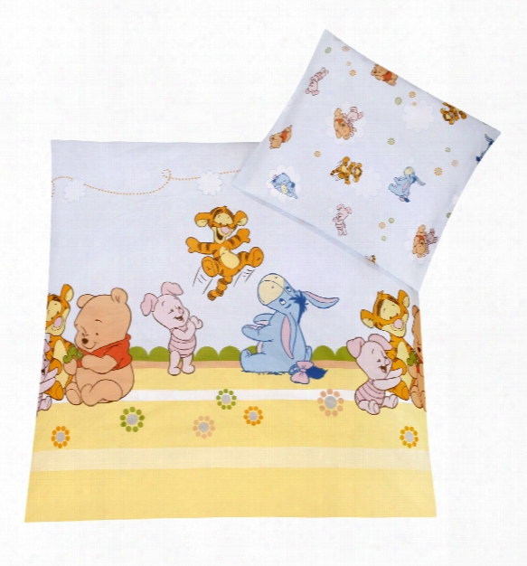 Zã¶llner Disney Bed Linen Baby Pooh And Friends