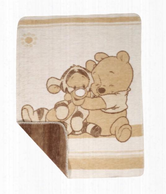 Zã¶llner Jacquard Blanket Pooh & Tigger