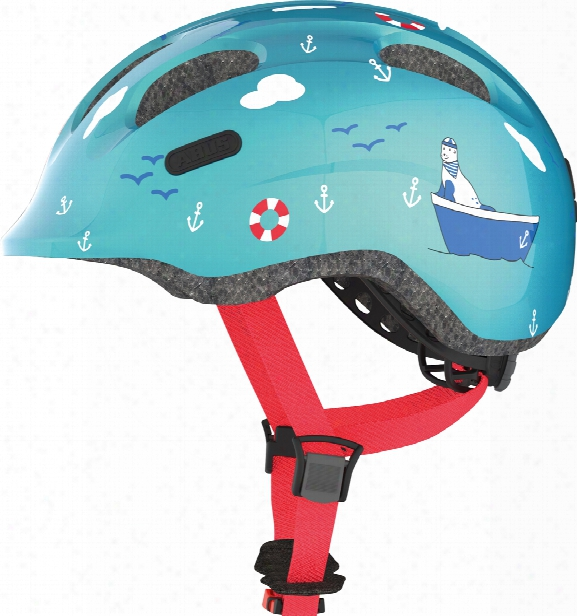 Abus Child�s Bicycle Helmet Smiley 2.0 Turquoise Sailor